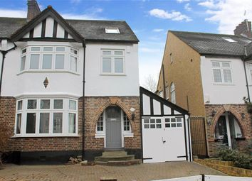Thumbnail 4 bedroom semi-detached house for sale in Hollywood Way, Woodford Green, Essex