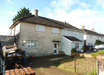 Thumbnail 3 bed semi-detached house for sale in Benbow Crescent, Poole