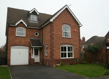 Thumbnail 4 bed detached house to rent in Pavilion Way, Congleton