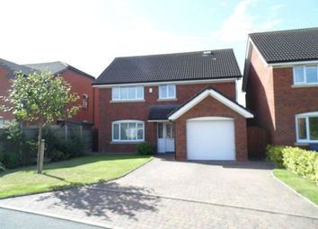 Thumbnail 4 bed detached house to rent in Cricket Meadow, Prees, Whitchurch