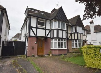 Thumbnail 4 bed semi-detached house to rent in Parkside, Finchley, London