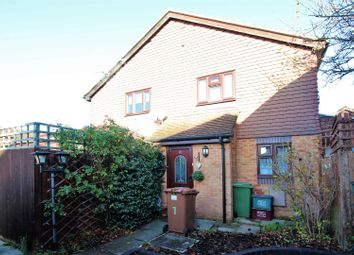 Thumbnail 1 bed semi-detached house for sale in Cheswick Close, Crayford, Dartford