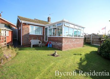 Thumbnail 3 bed detached bungalow for sale in Hill View Drive, Winterton-On-Sea, Great Yarmouth