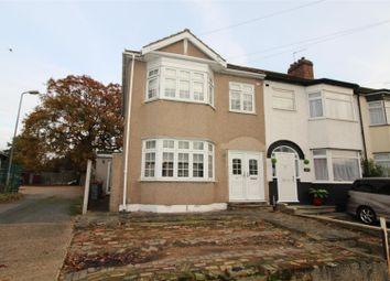 Thumbnail 3 bedroom end terrace house for sale in Park Lane, Hornchurch