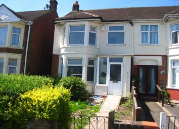 Thumbnail 3 bed semi-detached house for sale in Sewall Highway, Coventry