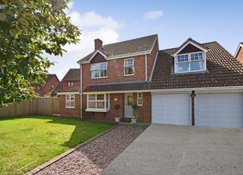 Thumbnail 4 bed detached house for sale in Agricola Way, Thatcham