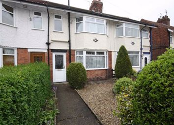 Thumbnail 3 bed terraced house to rent in East Ella Drive, Anlaby Road, Hull