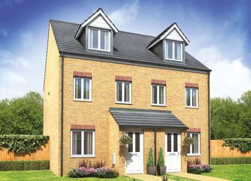 "Thumbnail 3 bed semi-detached house for sale in ""The Souter"" at Arcaro Road, Andover"