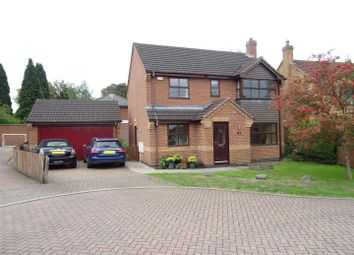 Thumbnail 4 bed detached house for sale in St. Vincents Close, Coalville, Leicestershire