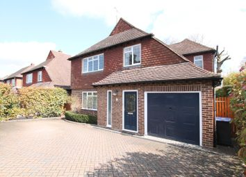 Thumbnail 4 bed detached house to rent in Lincoln Drive, Pyrford, Woking