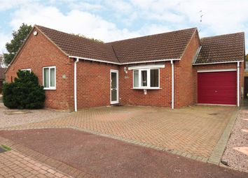 Thumbnail 3 bed detached bungalow for sale in Claybergh Drive, Sleaford