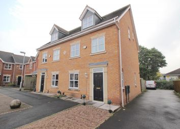 Thumbnail 3 bed semi-detached house for sale in Riveraine Close, Sutton-In-Ashfield