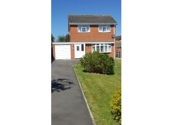 Thumbnail 3 bed detached house for sale in Bridge Way, Shrewsbury