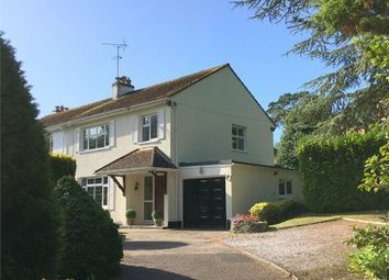 West Hill, Budleigh Salterton EX9. 3 bed semi-detached house