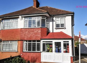 Thumbnail 3 bed semi-detached house to rent in Chessington Way, West Wickham