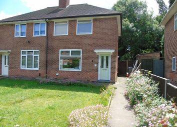 Thumbnail 2 bedroom semi-detached house for sale in Burnel Road, Selly Oak, Birmingham, West Midlands