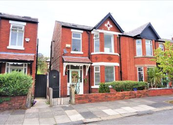 Thumbnail 4 bedroom semi-detached house for sale in Newport Road, Chorlton