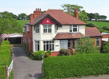 Thumbnail 4 bed detached house for sale in Wrexham Road, Penyffordd