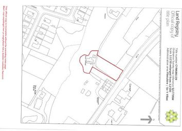 Thumbnail Land for sale in Rose Cottage, Llanerch-Y-Mor, Holywell, Clwyd