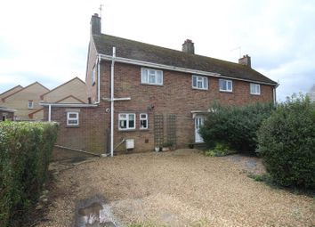 Thumbnail 3 bed semi-detached house for sale in Park Crescent, Thorney, Peterborough