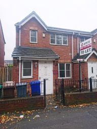 Thumbnail 3 bed semi-detached house to rent in St. James Road, Salford