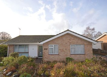 Thumbnail 3 bedroom detached bungalow for sale in Clyst Valley Road, Clyst St. Mary, Exeter