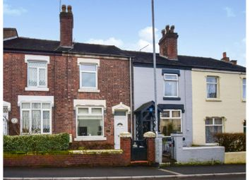 High Street, Halmer End, Stoke-On-Trent ST7. 2 bed terraced house for sale