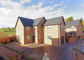 Thumbnail 4 bed detached house for sale in Jubilee Gardens, Westbury, Shrewsbury