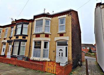 Thumbnail 3 bed end terrace house for sale in Clarence Road, Wallasey, Wirral
