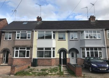 Thumbnail 3 bed terraced house to rent in Tennyson Road, Coventry