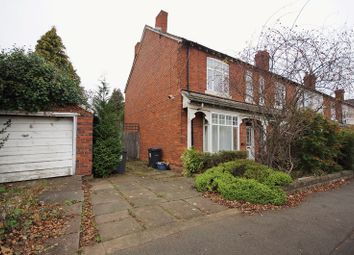 Thumbnail 3 bed end terrace house for sale in Franklin Road, Bournville, Birmingham
