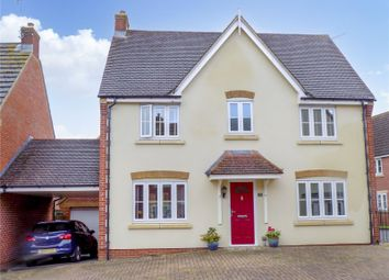 Thumbnail 3 bed detached house for sale in Kingdom Crescent, Swindon