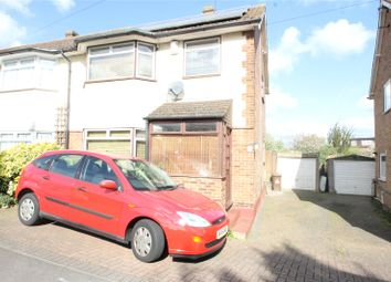 Thumbnail 3 bed semi-detached house for sale in Jarrett Avenue, Wainscott, Kent