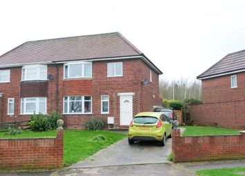 Thumbnail 3 bedroom semi-detached house for sale in Hill Crescent, Brogborough, Bedford