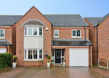 Thumbnail 4 bed detached house for sale in Eaton Croft, Rugeley