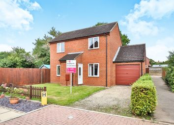 Thumbnail 3 bed detached house for sale in Highfield Close, Foulsham, Dereham