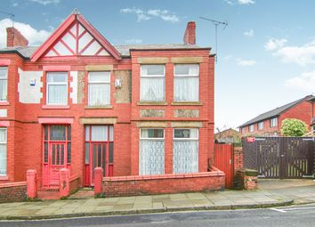 Thumbnail 4 bed semi-detached house for sale in South Hill Road, Prenton