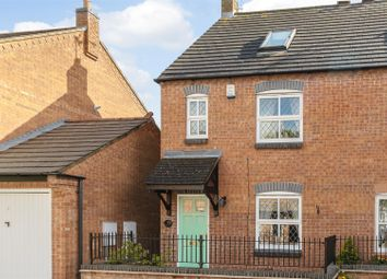 Thumbnail 3 bedroom semi-detached house for sale in The Maltings, Glenfield, Leicester