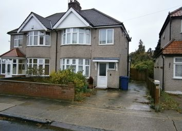 Thumbnail 3 bed semi-detached house for sale in North Greenford, North Greenford