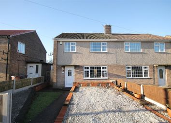 Thumbnail 3 bed semi-detached house for sale in Beech Crescent, Glapwell, Chesterfield