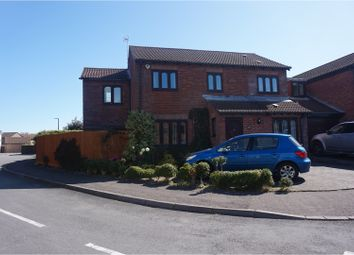 Thumbnail 5 bed detached house for sale in Cosmeston Drive, Penarth