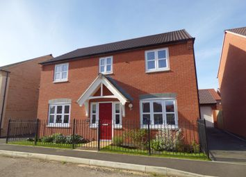 Thumbnail 4 bed detached house for sale in Kempton Drive, Barleythorpe, Oakham