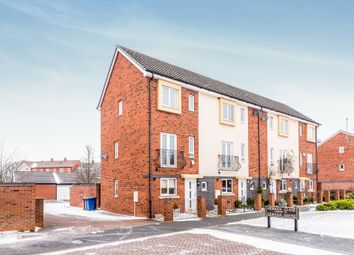 Thumbnail 3 bed town house for sale in Armada Close, Lichfield
