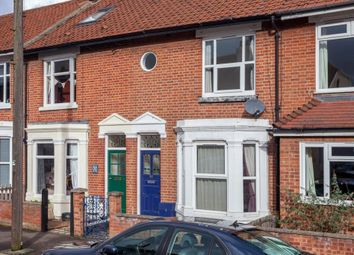 Thumbnail 3 bed terraced house for sale in Whitehall Road, Norwich