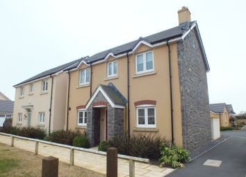 Thumbnail 3 bed detached house for sale in Honeyhill Grove, Lamphey, Pembroke
