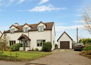 Thumbnail 3 bed detached house for sale in The Street, Bedingfield, Eye