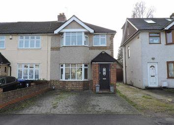 Thumbnail 3 bed end terrace house for sale in Hart Road, Byfleet, West Byfleet