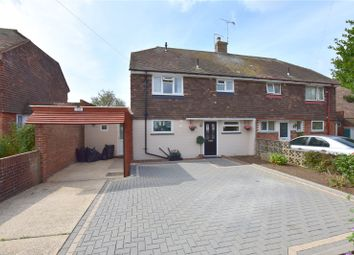 Thumbnail 3 bed semi-detached house for sale in Meadowview Road, North Sompting, West Sussex
