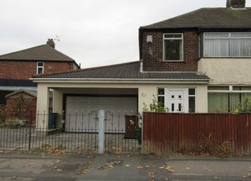 Thumbnail 3 bed semi-detached house for sale in Warrington Road, Rainhill