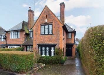 Thumbnail 4 bed semi-detached house for sale in Blandford Close, Hampstead Garden Suburb